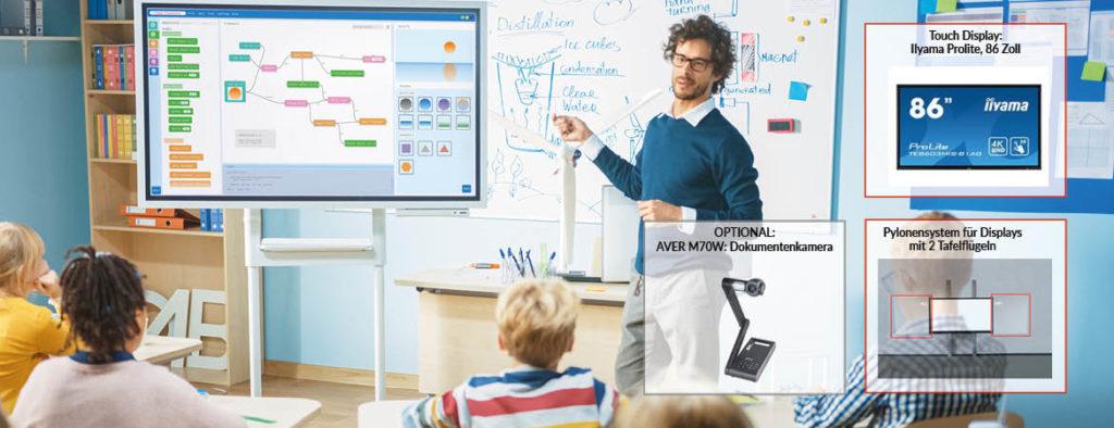 Schule digital: Interaktiver Unterricht Bild